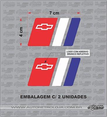 Adesivo Chevrolet EUA (par) 2 Unidades