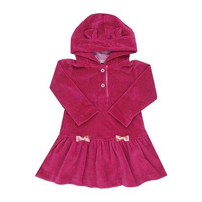 Vestido Bear Pink com Laço