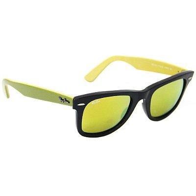 e617500704cc9 Óculos de Sol Ray Ban RB 2140 wayfarer espelhado 50