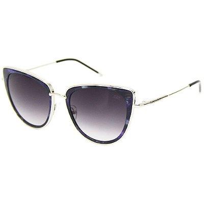 aea89872847ed Óculos de sol Sabrina Sato 7009 azul gatinho