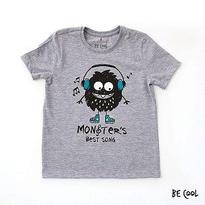 Camiseta Monstrinho manga curta menino