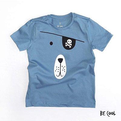 Camiseta Piratinha manga curta menino