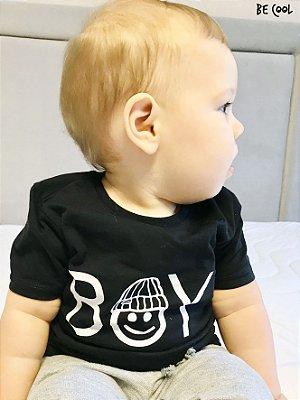 Camiseta Boy manga curta menino
