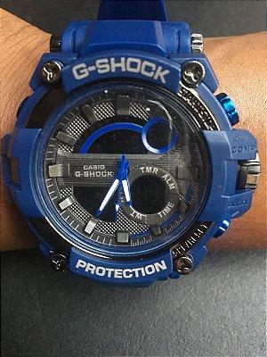 Replica de Relógio G Shock Azul Primeira Linha Barato