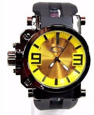 Réplica de Relógio Oakley Gearbox Amarelo Promoção