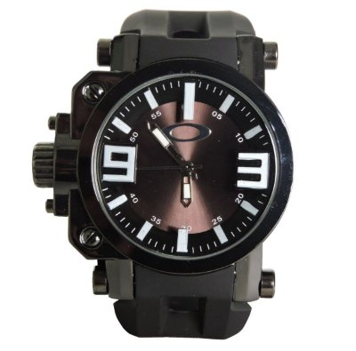 Réplica de Relógio Oakley Gearbox Preto Black Promoção