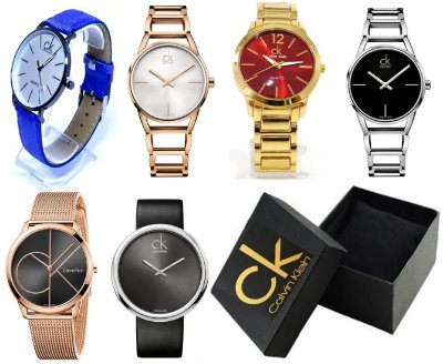 Kit 12 Relógios Calvin Klein Femininos Com Caixinhas