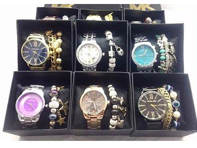 Kit 20 Replicas Relógios Michael Kors Primeira Linha Atacado