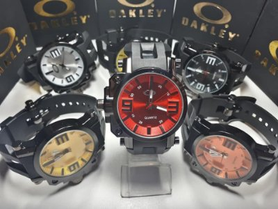 Kit 10 Relógios Oakley Gearbox Importados Atacado
