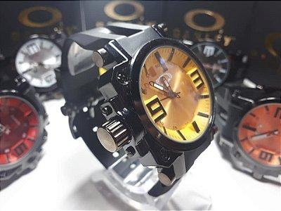 Kit 06 Relógios Oakley Gearbox Importados Atacado