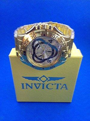 Kit 05 Relógios Masculinos Invicta Replicas Com Caixa