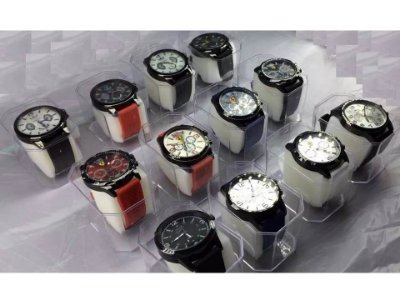 Kit 20 Relógios Masculinos Pulseira Em Silicone No Atacado