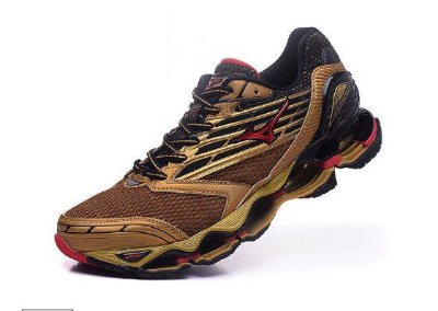 201e15672b Tênis Mizuno Wave Prophecy 5 - Golden Runners - Dourado