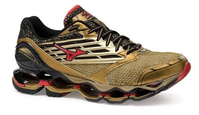 Tênis Mizuno Wave Prophecy 5 - Golden Runners - Dourado