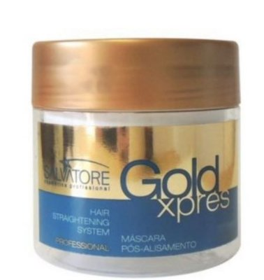 Salvatore Máscara Gold Xpres 250ml- Fab Salvatore Cosmeticos
