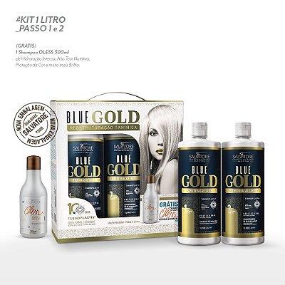 Kit Blue Gold 1L - Lançamento 2018 - 10 Anos