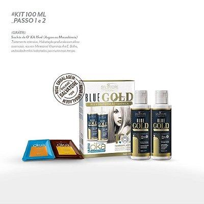 Kit Blue Gold 100ml- Lançamento 2018 - 10 Anos
