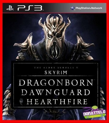 DLCs Skyrim - Dragonborn Dawnguard e Hearthfire