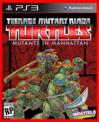 Tartarugas Ninja - Ninja Turtles Mutants In Manhattan