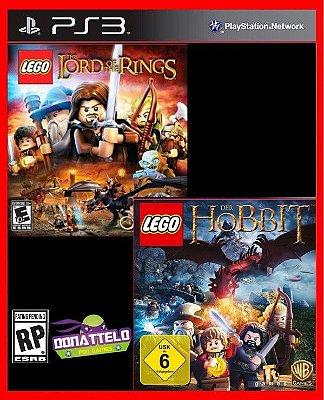 Combo Lego Senhor dos Anéis e Lego O Hobbit