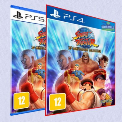 Street Fighter 30Th Anniversary Collection PS4 PS5