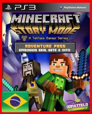 Minecraft Story Mode Adventure Pass ps3