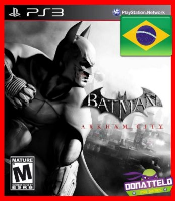 Batman Arkham City ps3 legenda em Portugues br