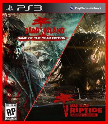 Dead Island 1 e Dead Island Riptide - Game of the Year Edition ps3
