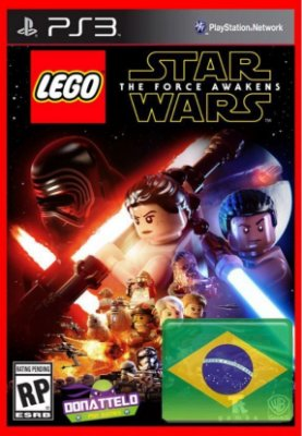 Lego Star Wars The Force Awakens ps3 - O despertar da força