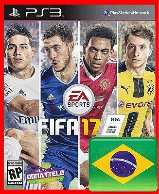 Fifa 17 ps3 - narração portugues br