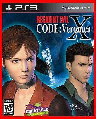 Resident Evil Code Veronica X HD
