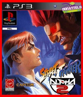 Street Fighter Alpha 2 ps3