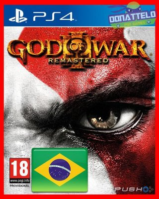 God of War III Remastered - GOW 3 PS4