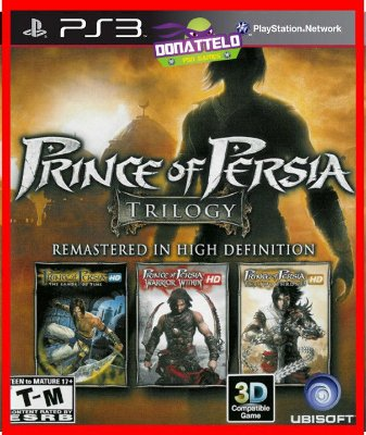Prince of Persia Trilogy ps3 - Trilogia Prince of Persia