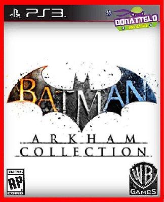 Coleção Batman Arkham - Três jogos: Origins, City e Asylum