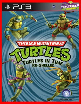 Tartarugas Ninja - Turtles in time Re-Shelled ps3