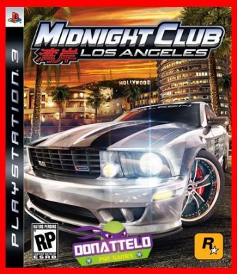 Midnight Clube Los Angeles L.A. ps3