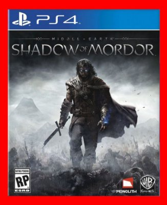 Middle Earth Shadow of mordor - Sombras de mordor ps4