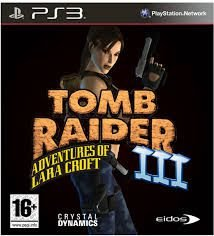 Tomb Raider 3 ps3 - Adventures of Lara Croft
