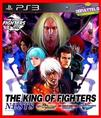 The King of Fighters NEST ps3 - KOF99 KOF2000 e KOF2001