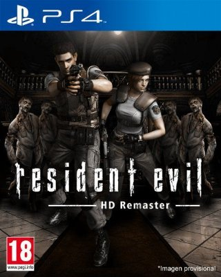 Resident Evil 1 Remake HD ps4