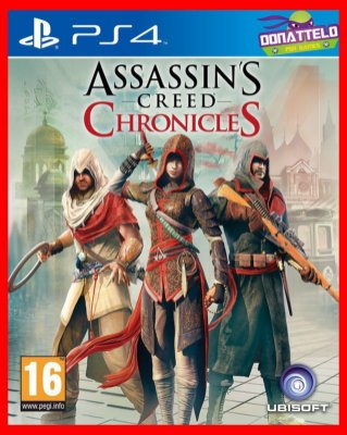 Assassins Creed Chronicles Trilogy ps4