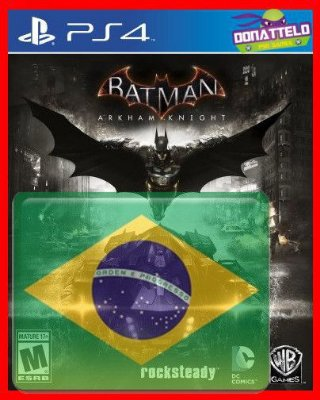 Batman Arkham Knight PS4 dublado em portugues