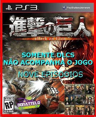 DLC Attack on Titan - Pacote de episodios extras 1-9