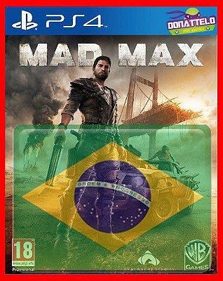 Mad Max Ps4 - Dublado em portugues br