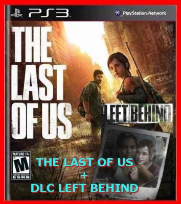 The Last of Us + DLC Left Behind ps3