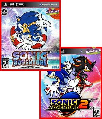 Sonic Adventure 1 e 2 ps3