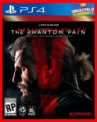 Metal Gear Solid V - The Phantom Pain ps4