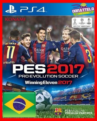 Pro Evolution Soccer 2017 - PES 2017 ps4