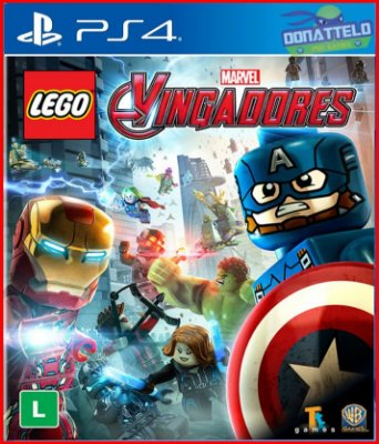 Lego Marvel Avengers ps4  - Lego Marvel Vingadores